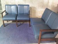 These are a pair (total of 4 seats) of chairs taken out