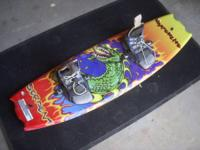 I am offering my Hyperlite Serpent Wakeboard with