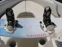 134 liquid force diva wakeboard with bindings Call or
