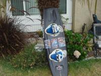 """Like New"" Liquid Force wakeboard. Bought it for the"