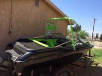 1995 marlin With a wake tower !! Ready to hit the water