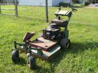 i have a buton walk behind mower 36 in cut needs