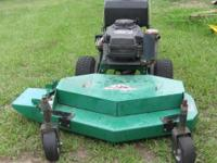I am selling a Bobcat Walk-behind mower. Engine