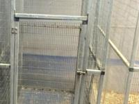 Walk-in flight cage for sale. This is a Corners Limited