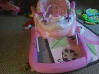 Walker for a little girl. Rarely used and comes from a
