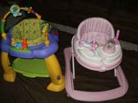 Safety 1st pink walker used twice, it is spotless! Kids