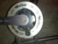 WALKER DOWNRIGGERS( MANUAL) WITH LEAD BALLS AND