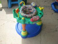 I have a fire truck walker, an older model exersaucer