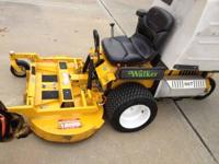 THIS IS A 2011 WALKER MOWER MT48GHSA, 23HP, 48HD DECK