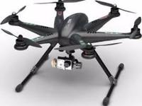 The DJI Phantom 2 Vision+ v3.0 Quadcopter with Spare.