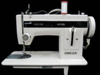 Brand new Omega walking foot sewing machines for sale.