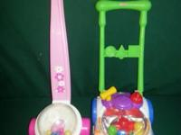2 Fisher-Price walking toys for infant. Timeless popper