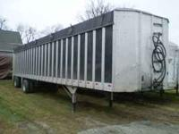 Used Walking Floor Trailers for sale, different sizes