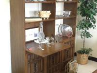 Available for sale is a large Bookcase/Entertainment