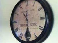 I am selling my wall clock for $175 obo. I paid $335 a