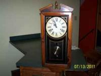 30 day wind up clock, made by Verichron. Call  leave