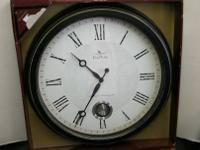 "Oversized Wall Clock - 24"" Diameter. Makes a"