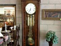 Very nice Sligh Clock Company wall clock. Clock is 72""