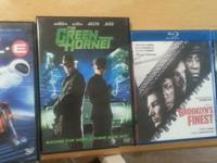 Have the following DVDs and Blu Rays for sale all in