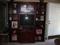 Wall Entertainment Center, Good condition, Great for