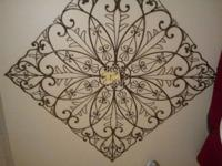 Beautiful medal wall hanging 48x48 asking 75 obo