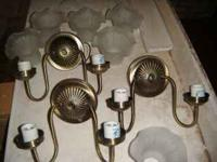 i have 3 wall lights sell or trade 15.00 obo call