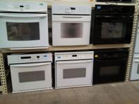 Wall Ovens - Prices start at $125.00 West Maple Habitat