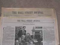 THE WALL STREET JOURNAL PUBLISHES CENTENNIAL EDITION ON