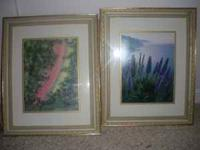 Picture of two wall art pictures... $20 each Lighthouse