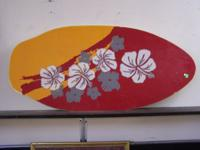 WE HAVE FOR SALE TWO FUN WALL DECORATIVE SURF/ SKIM