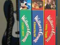 Set of 3 VHS Wallace & Gromit, A Grand Day Out 1990,