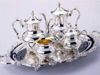 Selling a 4 piece Silverplated Wallace English Royal