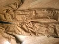 WALLS insulated coveralls Brown X-large Chest 46-48