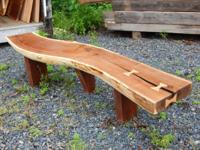 "4"" thick 60""+ long 10""+wide 18"" high Solid walnut log"