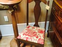 We just brought in a gorgeous Walnut Chair.  Offering