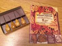 """Walnut Hollow Farm"" Wood carving set Includes"