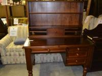 Walnut Hutch Top Table
