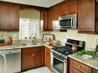 Never Installed Walnut Kitchen Cabinets  FINANCING