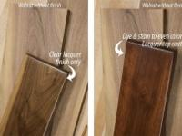 Walnut is available as rough lumber typically in 4/4