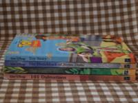 Lot of 4 Disney Books The Jungle Book Toy Story 101