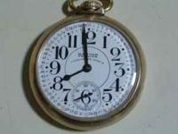 Waltham Premier 23 Jewels Vanguard Pocket Watch. Watch