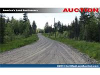 A land auction for lakefront lots in Hancock County,