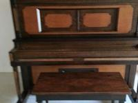 This piano has been restored and in very good condition
