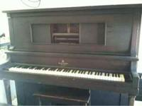 Old walthers player piano on trailer. Looking to sell
