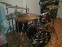 I have a set of gp drums. They sound remarkably