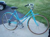 I have a 70's Schwinn 10 speed that I'm converting to
