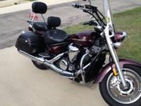 2008 vstar tourer with ultimate seats with rider