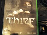 WANTING TO TRADE OUR LIKE NEW COPY OF THIEF FOR XBOX