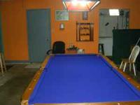 Im looking to trade my pool table that I bought from