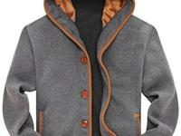 Comfortable hooded sweatshirt: Soft stretch cotton
